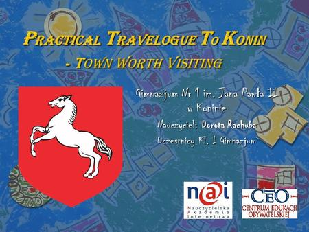 PRACTICAL TRAVELOGUE TO KONIN - Town Worth Visiting