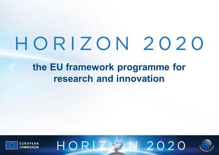 The EU framework programme for research and innovation.