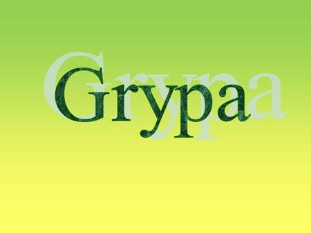 Grypa.