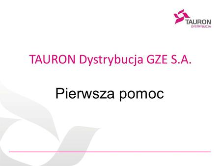 TAURON Dystrybucja GZE S.A.