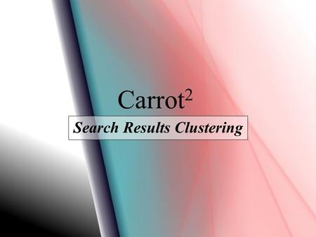 Search Results Clustering