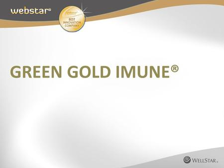 GREEN GOLD IMUNE®.