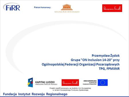 Grupa ON Inclusion 14-20 przy