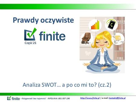 Analiza SWOT… a po co mi to? (cz.2)