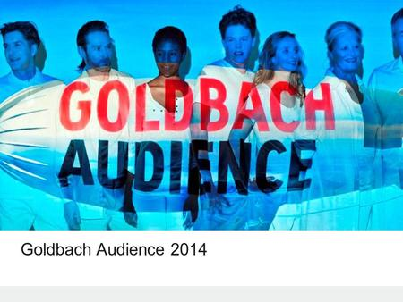 Goldbach Audience 2014. © 2014 Goldbach Audience2 1.Goldbach Audience w 2013 2.Status portfolio 3.Zmiany w Dedicated & Tailor Made 4.Zmiany w Reach and.