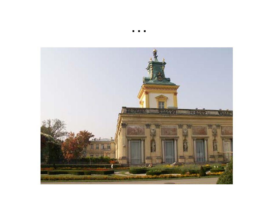 Deutsch  Barock-Schloss und Park in Wilanow gehört zu den wertvollsten Denkmälern der polnischen Kultur und polnischen Barock, die den zweiten Weltkrieg fast vollständig erhalten.