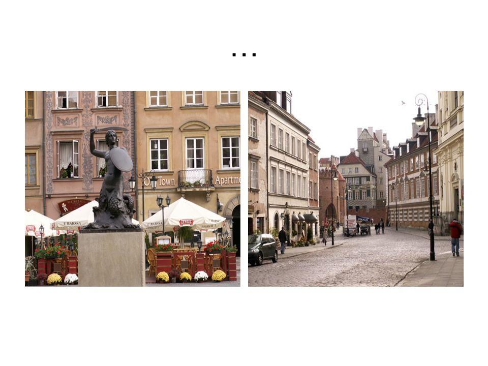 Deutsch  Obwohl die meisten wissen, dass der Warschauer Altstadt und den umliegenden Gebieten nur eine sorgfältige Rekonstruktion sei, kann frei sagen, dass es sehr atraktiver Ort zu besichtigen.