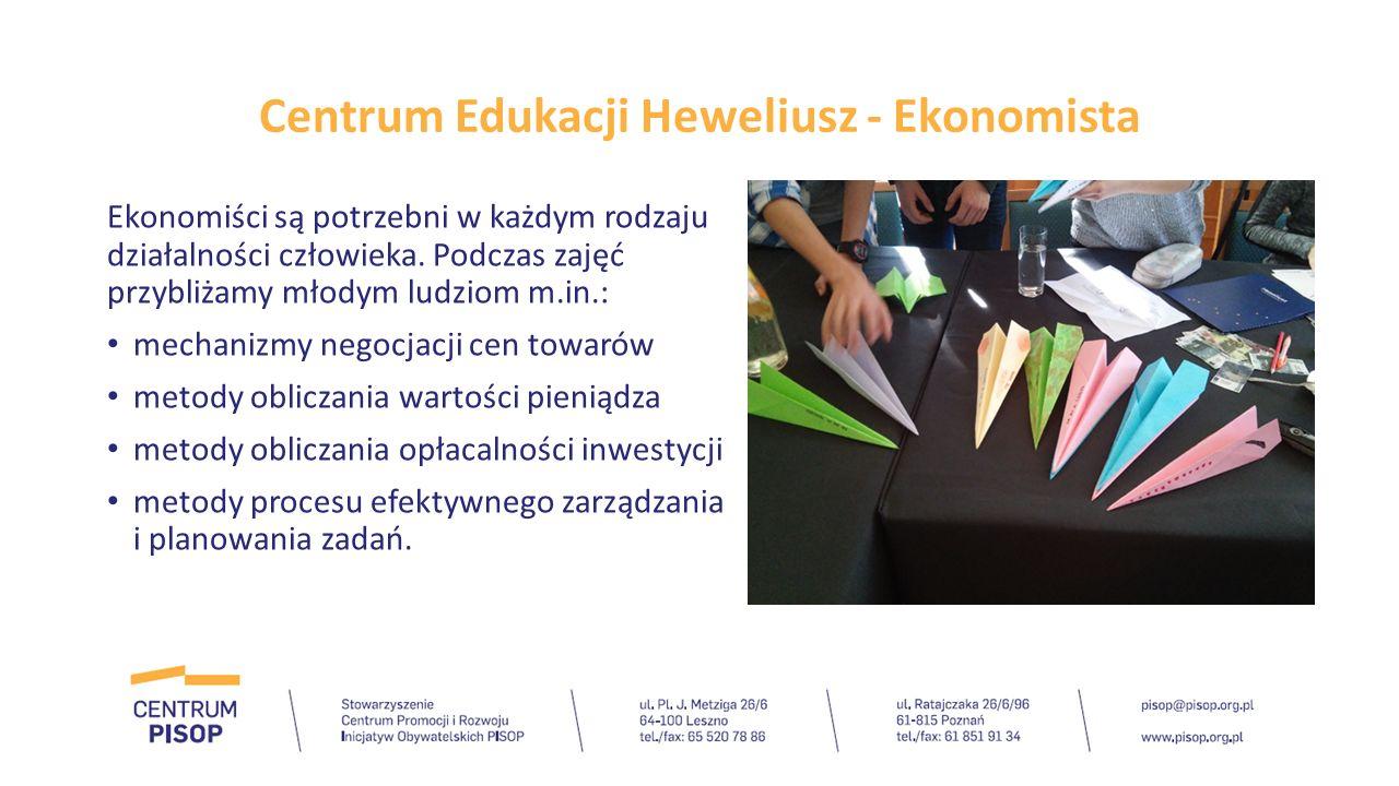 Centrum Edukacji Heweliusz - Logistyk W ramach zajęć z logistyki dajemy młodym ludziom możliwość wykazania się logicznym i analitycznym myśleniem oraz dedukcją.