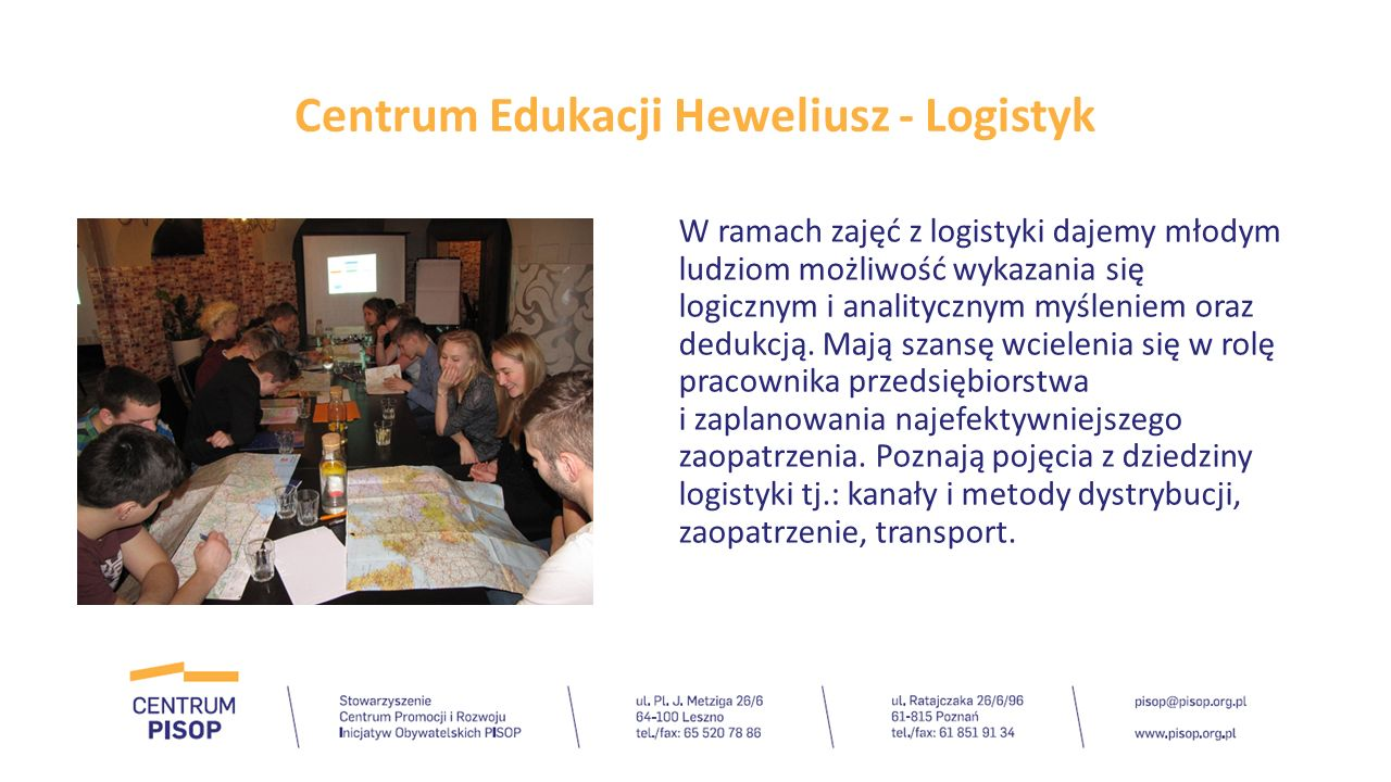Centrum Edukacji Heweliusz – Menadżer projektów Coraz więcej firm zaangażowanych jest w realizację projektów, jednak żeby projekt doszedł do skutku i jego realizacja przebiegła bez utrudnień, potrzebna jest odpowiednia osoba, czyli menadżer projektu.