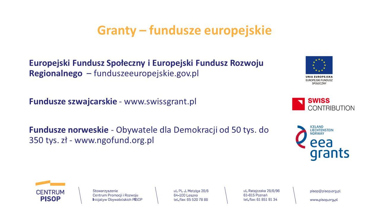 Granty - Fundacje Programy realizowane przez fundacje korporacyjne np.: Fundacja mBank Fundacja PGNiG SA im.