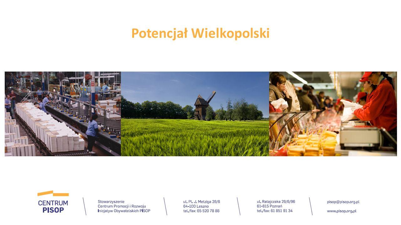 Województwo wielkopolskie jest jednym z najlepiej rozwijających się regionów Polski.