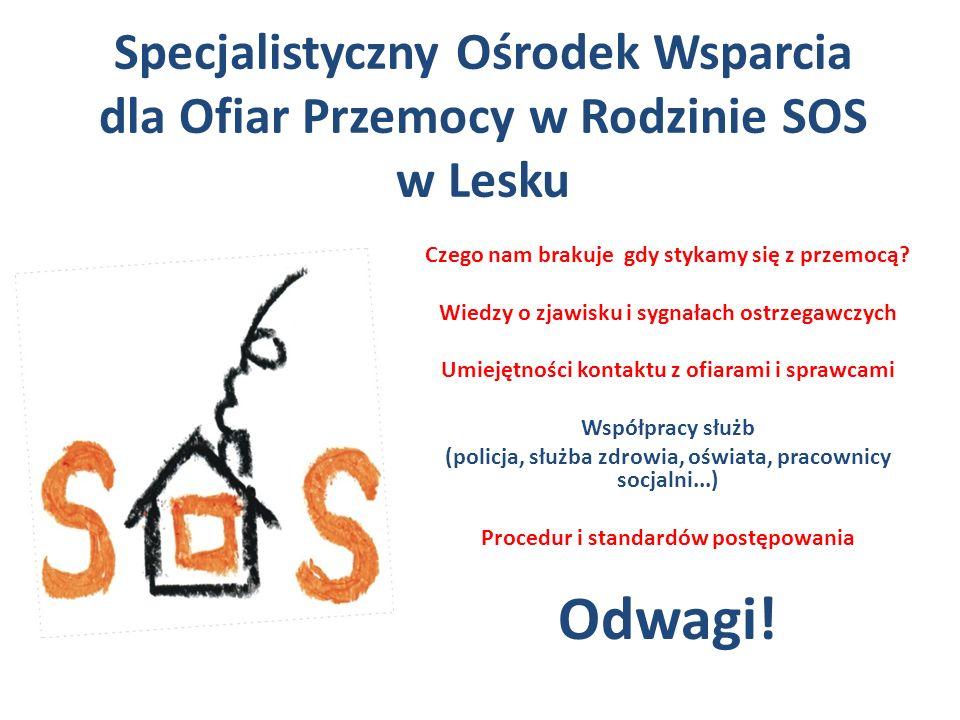 """Ośrodek mieści się w budynku Szkolnego Schroniska Młodzieżowego """"Bieszczadnik przy ul."""