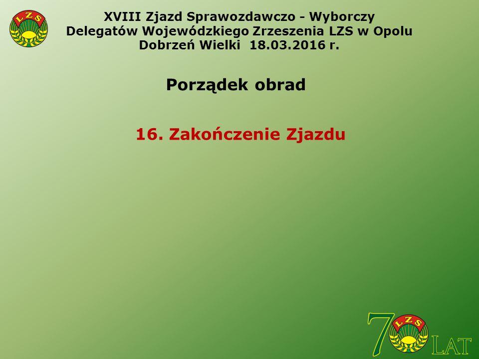 Wojewódzkie Zrzeszenie Ludowe Zespoły Sportowe w Opolu 45 - 083 Opole ul. Barlickiego 13