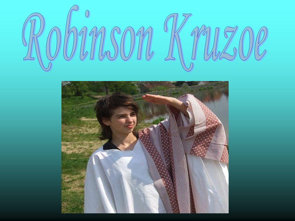 Robinson Kruzoe urodził się w Anglii i był synem kupca niemieckego pochodzenia.