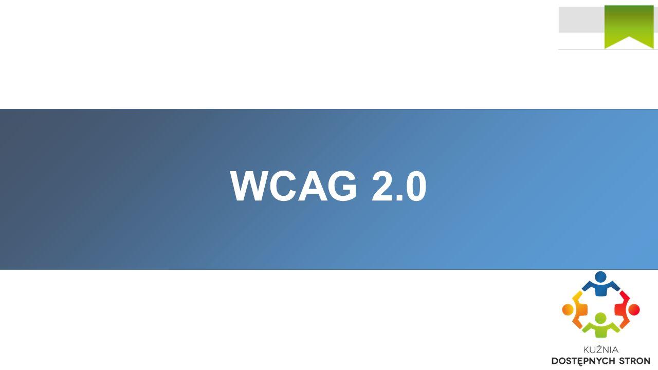 Co to jest WCAG 2.0.