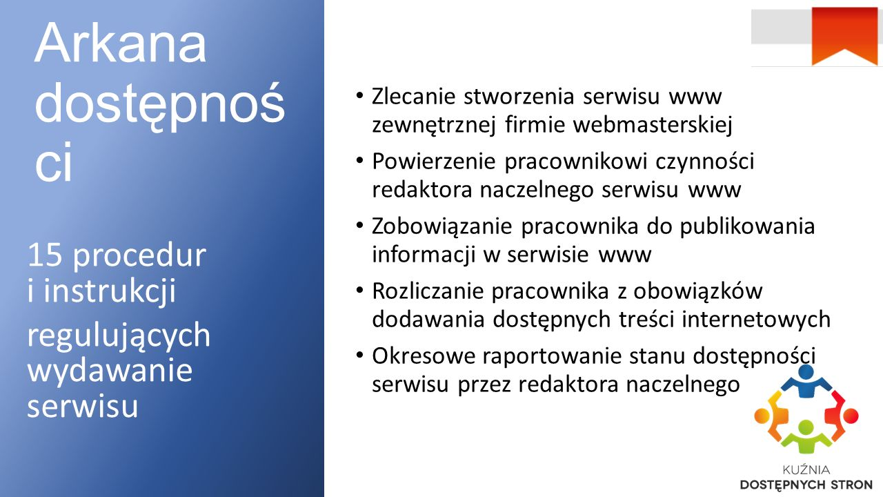 Dostępna zawartość Arkana dostępności, cz. II Dobre praktyki w serwisie projektu,