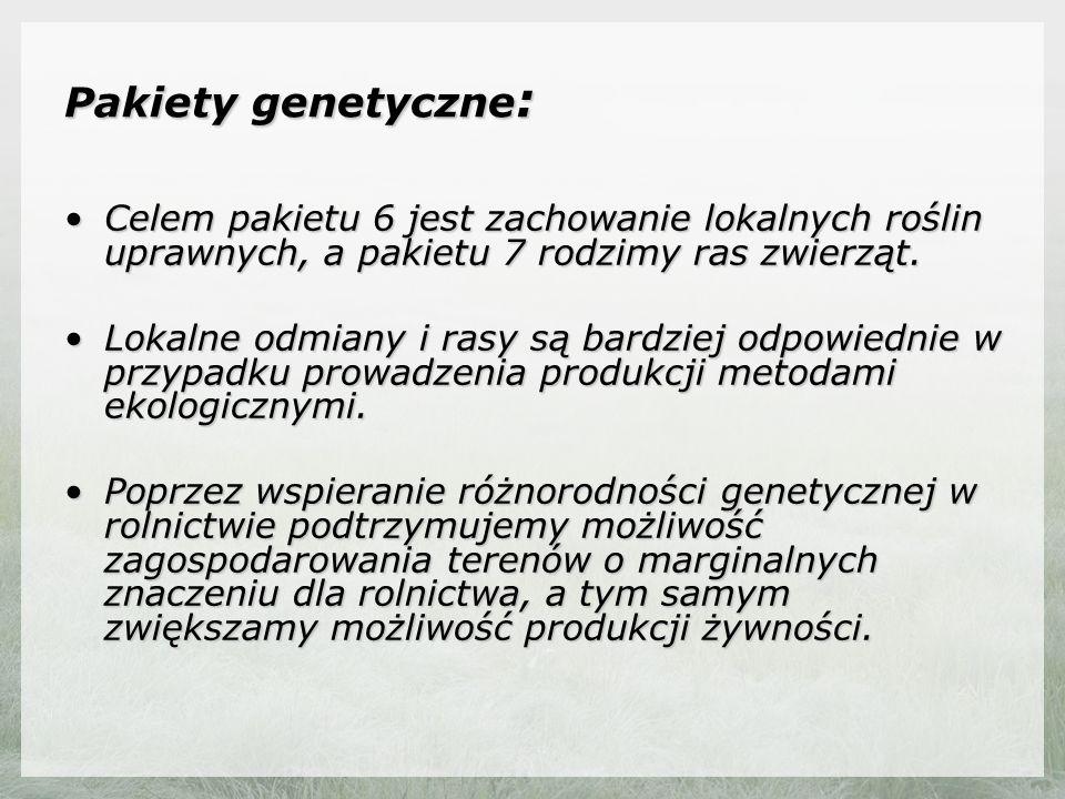 Wszystkie pakiety rolnośrodowiskowe Fot: Marek Jobda