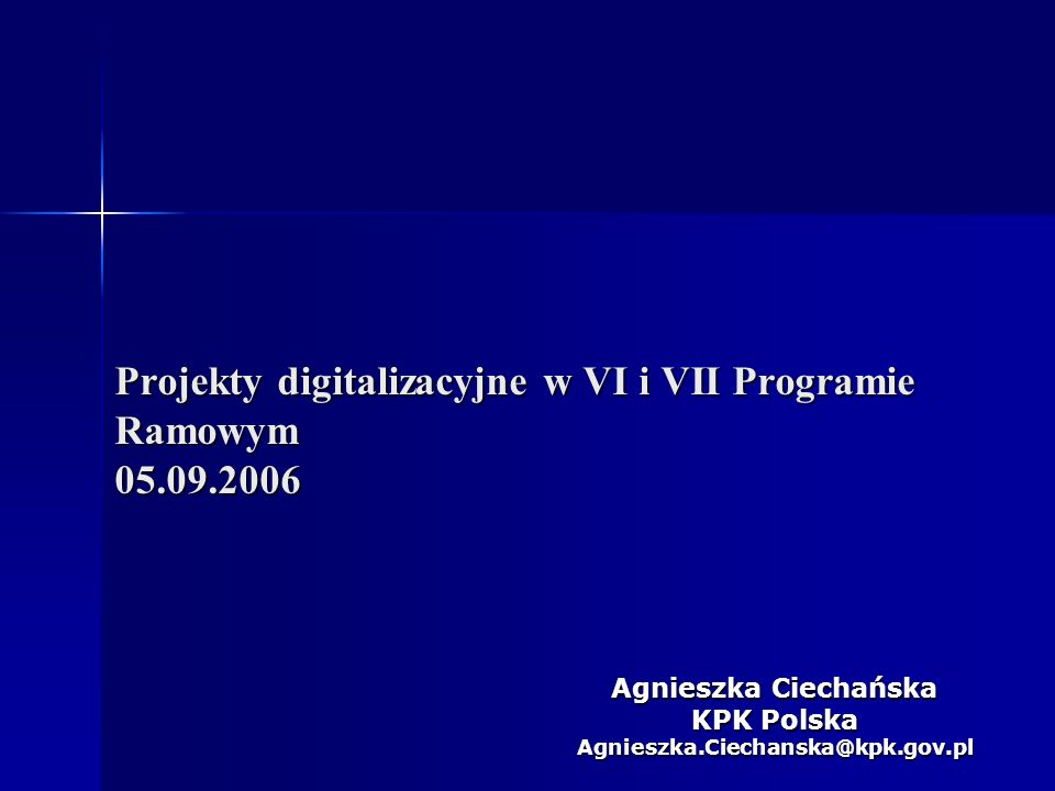 2 Programy Ramowe Unii Europejskiej
