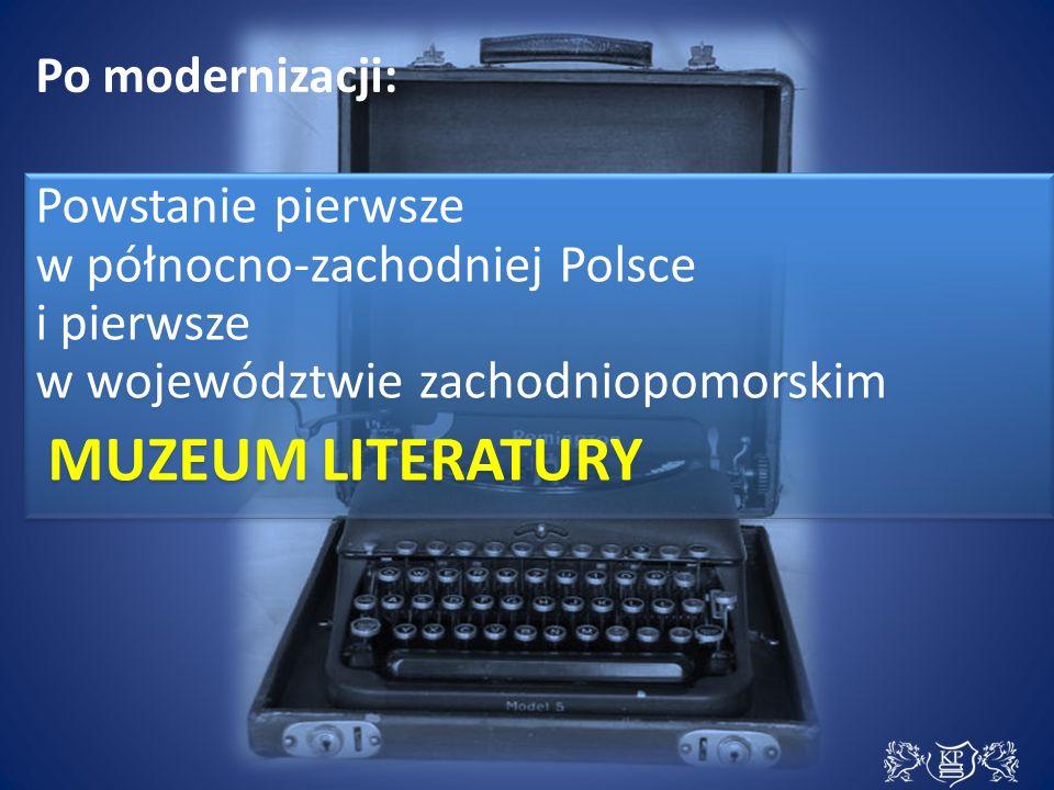 MUZEUM LITERATURY | misja Prezentuje cenne, ciekawe zbiory i prowadzi szeroko zakrojoną działalność edukacyjną.