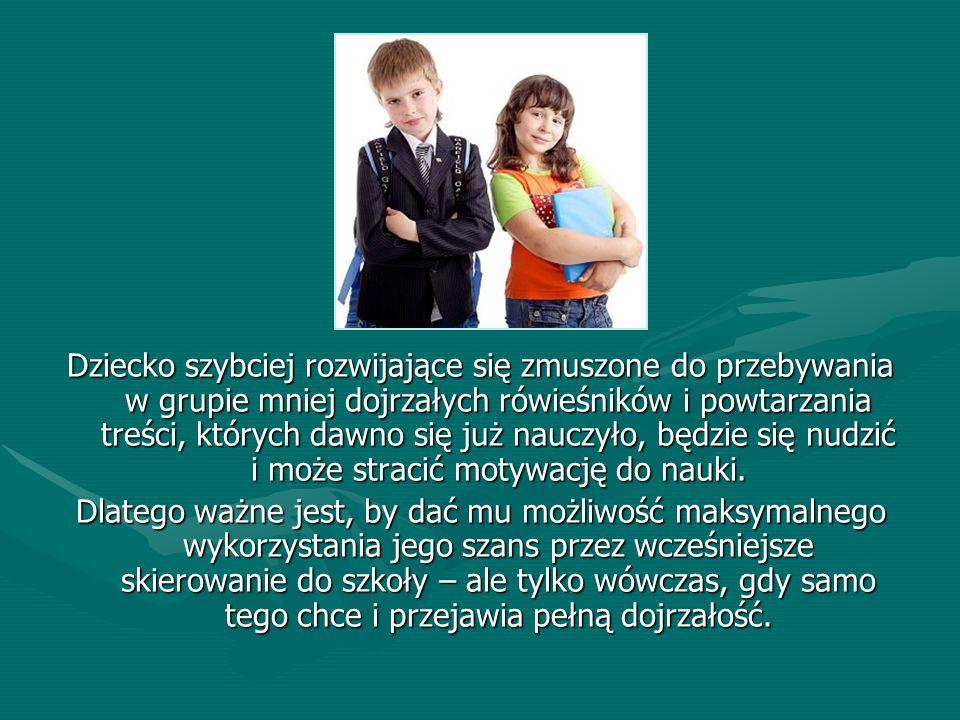 Bibliografia 1.B.Janiszewska, Ocena dojrzałości szkolnej.