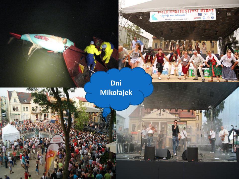 Festiwal Szantowy Liczne regaty żeglarskie