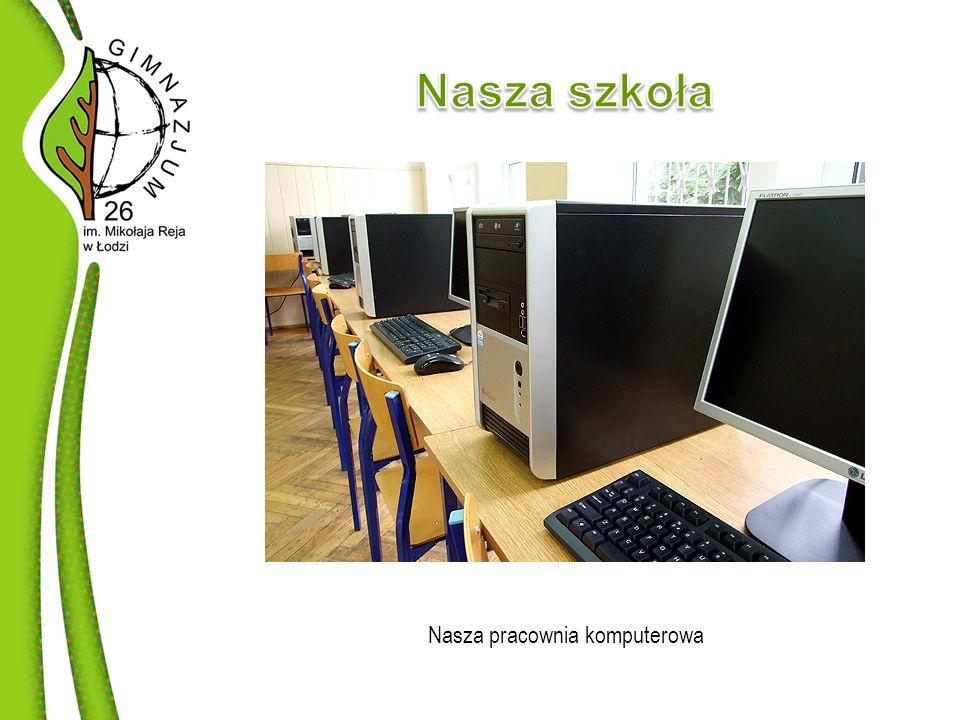 W szkole mamy piętnaście projektorów multimedialnych, które wykorzystujemy zarówno podczas imprez i szkoleń, jak i w czasie lekcji.