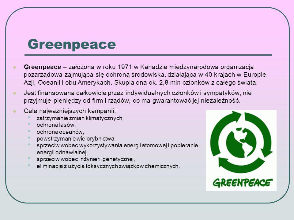 Europejski system ochrony przyrody Natura 2000 W Europie takim programem jest Sieć Natura 2000.