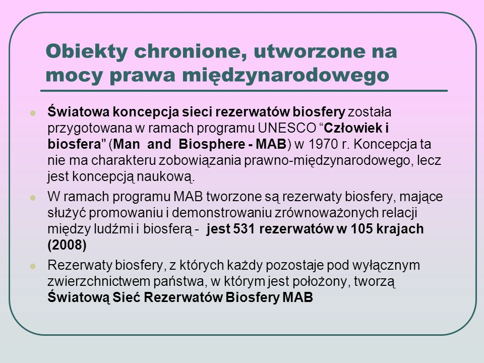 Rezerwaty Biosfery MAB w Polsce