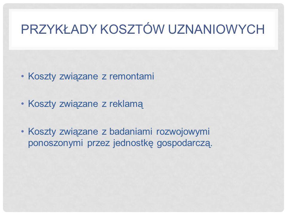 KOSZT KRAŃCOWY Stanowi koszt jaki jednostka gospodarcza ponosi w związku z wytworzeniem jednej dodatkowej jednostki produktu.