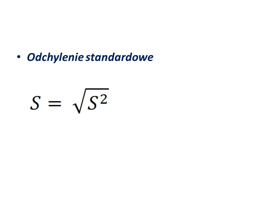 = 649,6459 S = 25,48815 – zaobserwowane wartości zmiennej objaśnianej (średniej wielkości produkcji) przeciętnie różnią się od teoretycznych wartości tych zmiennych o 25,49 tys.