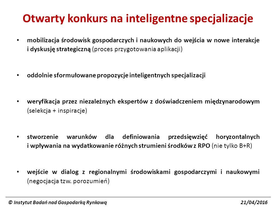 Inteligentne specjalizacje Pomorza zostały zdefiniowane i wybrane, ale to nie zamyka tematu.