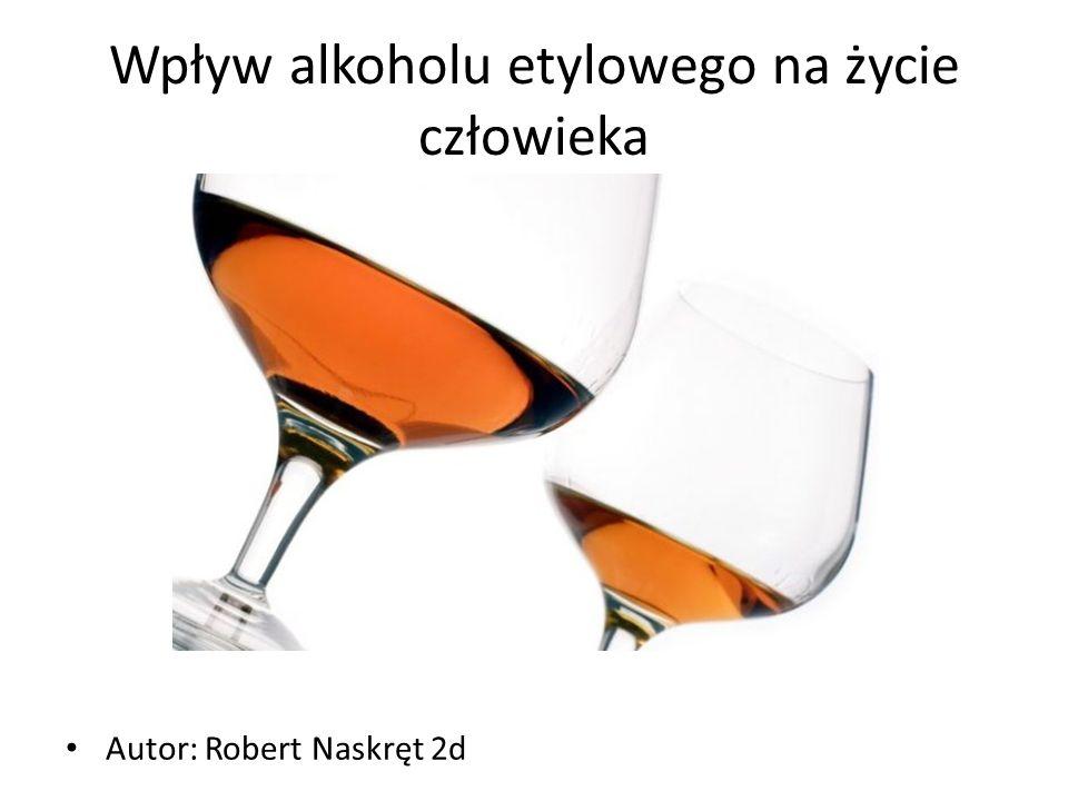 Alkohol etylowy podstawowe informacje