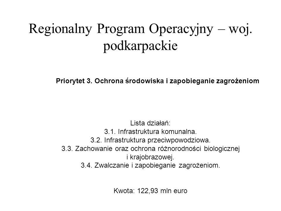 Regionalny Program Operacyjny – woj.podkarpackie Priorytet 4.