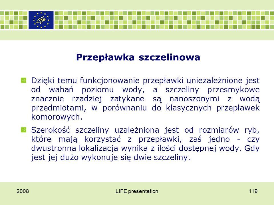 Przepławka szczelinowa 2008LIFE presentation120