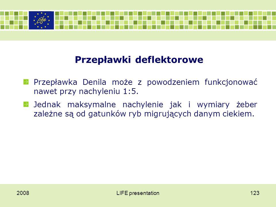 Przepławki deflektorowe 2008LIFE presentation124