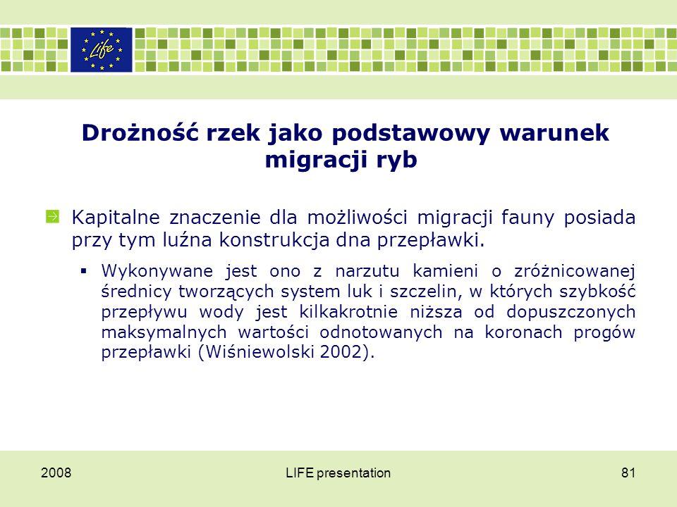 PRZEPŁAWKI 2008LIFE presentation82