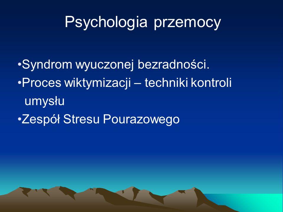 Obrażenia psychiczne szkody powodujące obniżenie możliwości intelektualnych lub psychicznych jednostki, w wyniku czego następuje wyraźne pogorszenie się jej funkcjonowania, w porównaniu z typowymi dla danej kultury standardami osiągnięć i zachowania.