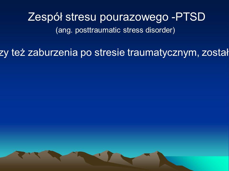 Stres – Hans Selye.Organizm reaguje szeregiem zmian mających znaczenie przystosowawcze.