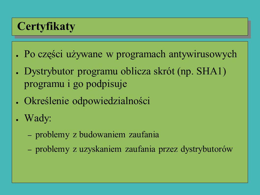 Proof-carrying code ● Kod niosący dowód