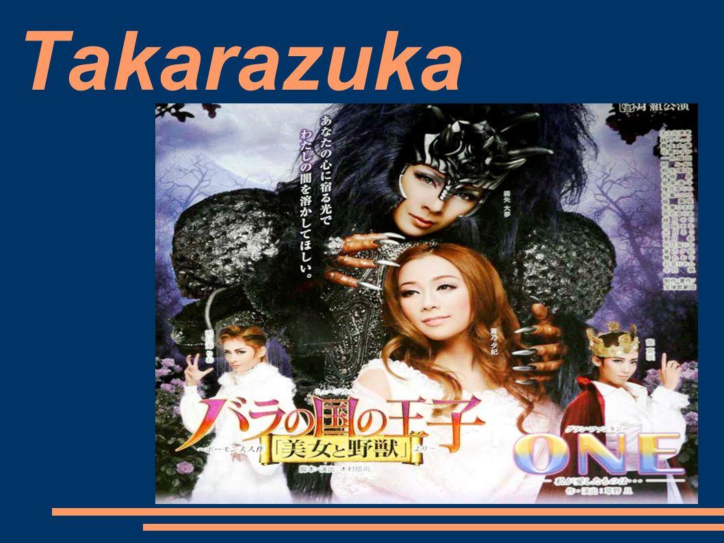 Co to jest TAKARAZUKA.TEATR TAKARAZUKA ( 宝塚歌劇 ・ TAKARAZUKA REVUE) to japońska rewia żeńska.