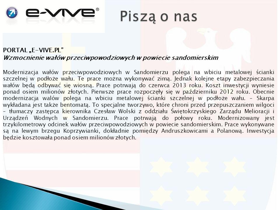"""PORTAL """"ONET.PL 300 mln zł na drogi wojewódzkie w 2013 rokustrona 1/2 Ponad 300 mln zł wyda w tym roku na przebudowę i budowę nowych dróg Świętokrzyski Zarząd Dróg Wojewódzkich."""