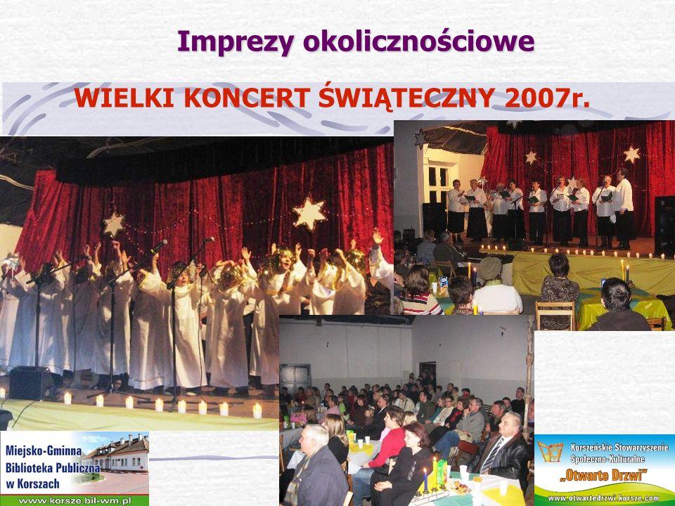 Imprezy okolicznościowe WIOSENNE RYTMY 2007r.