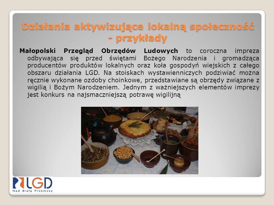 Działania aktywizujące lokalną społeczność - przykłady Agrotravel Kielce 2013I Jurajski Salon Turystyczny Targi Turystyczne w Dolinie Karpia
