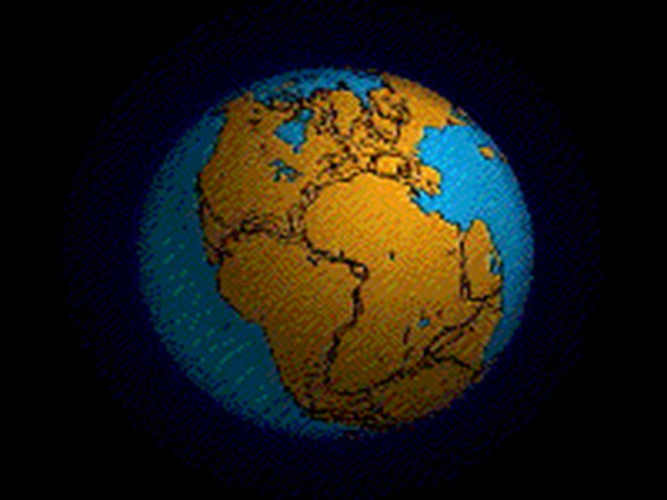 Grzbiet Śródatlantycki Powstawanie grzbietu Śródatlantyckiego Grzbiet Śródatlantycki zajmuje ok.