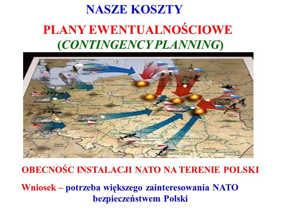 Jaka jest przysz ł o ś ć NATO.1. Sytuacje konfliktowe w relacjach pomiędzy członkami NATO.
