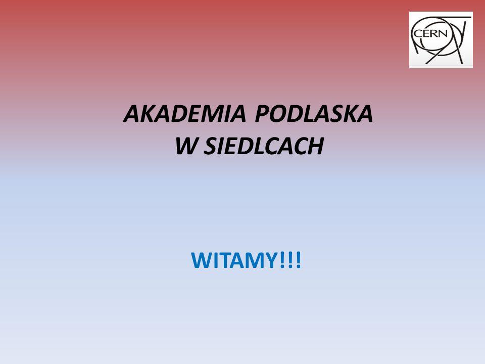 WYKŁAD WSTĘPNY Przygotowali: Agnieszka Kalata Robert Baca Studenci IV roku matematyki Akademia Podlaska