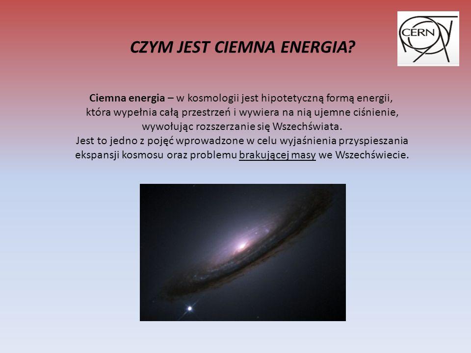 CZARNA DZIURA Czarna dziura jest tworem grawitacji, której podlegają zarówno cząstki o małych, jak i o dużych masach, a nawet światło.