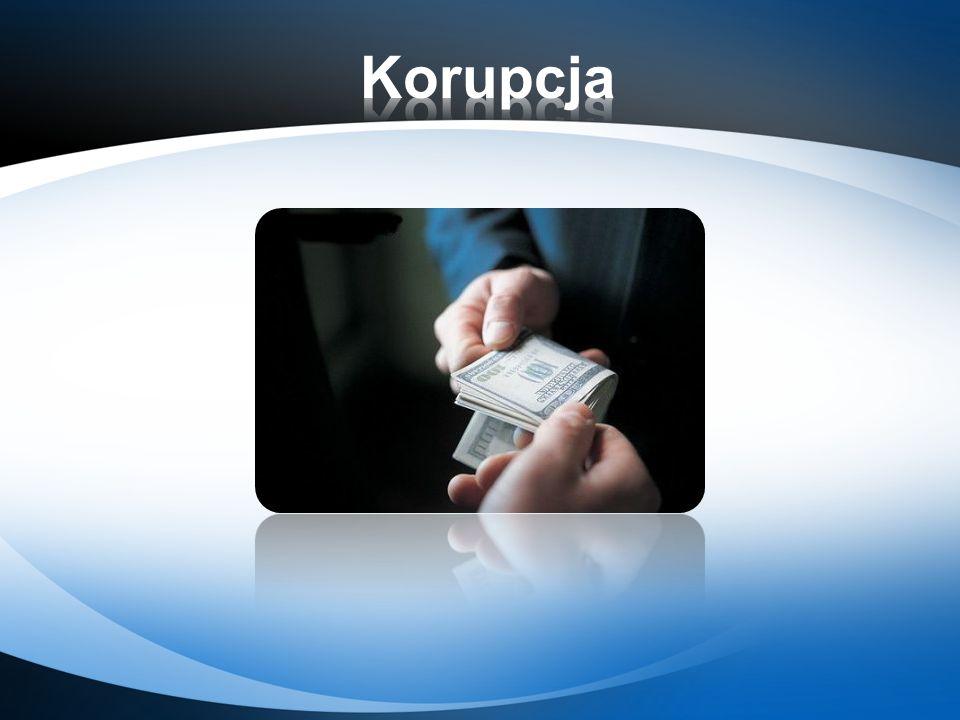Brak etyki często przekłada się na zachowania korupcyjne.