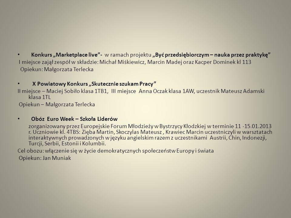Powiatowy konkurs Kolędowanie po niemiecku Weronika Tomczyk, kl.