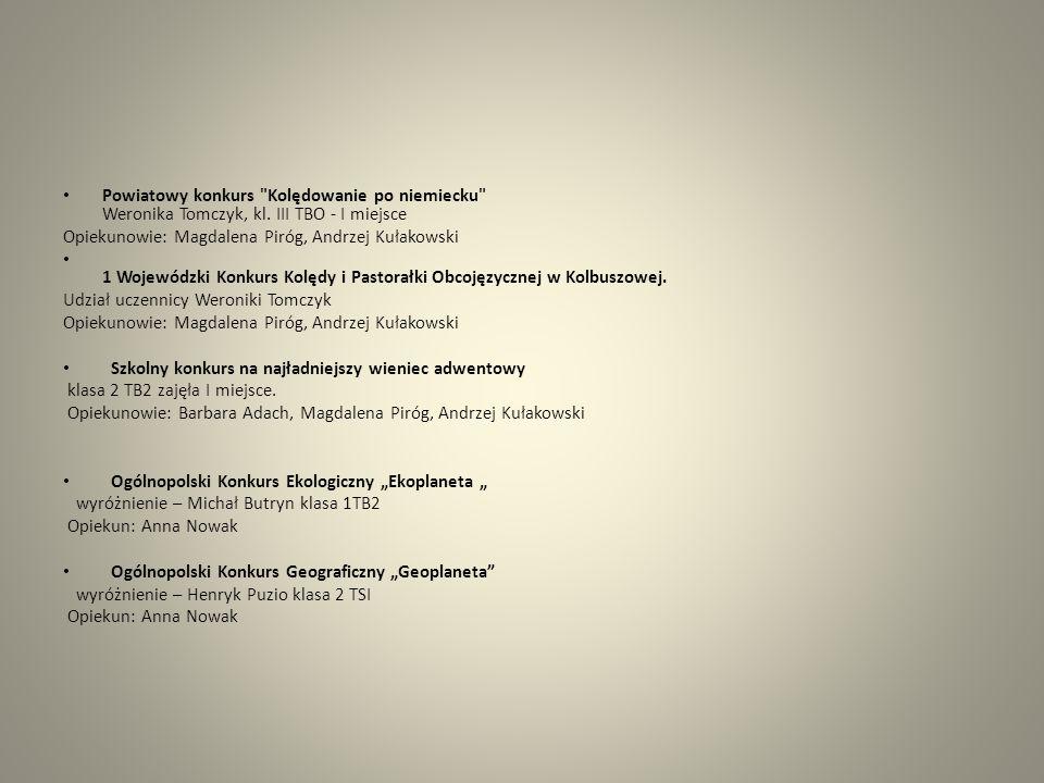 Finał VI Międzyszkolnego Konkursu Wiedzy o Prawach Konsumenta pt.